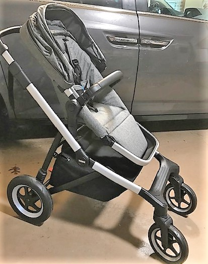 Thule sleek infant seat upright