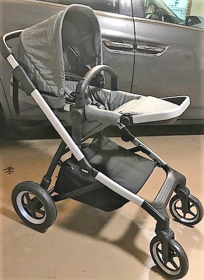 Thule Sleek Stroller Product Review, Thule tandem - The ...